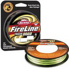Плетеный шнур Berkley Fireline Braid Tracer 110m 0,30mm 36.3kg