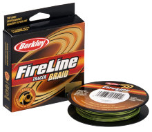 Плетеный шнур Berkley Fireline Tracer Braid 110m
