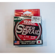 Плетеный шнур YO-Zuri PE SUPERBRAID 150YDS 20Lbs (0.23mm)