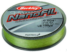 Леска Berkley NanoFil Lo-Vis Green 125m