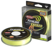 Плетеный шнур Berkley Fireline Exceed Flaem Green 270m 0,32mm 23,5kg