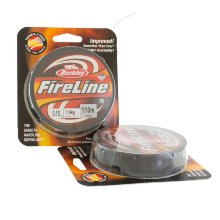 Плетеный шнур Berkley Fireline Smoke 110m