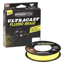 Плетеный шнур Spiderwire Ultracast Fluorobraid Yellow 110m